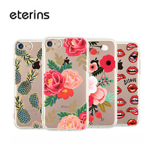 Фотография Flower Case Soft Case for iPhone 6 s Cover TPU Case for Apple iPhone 6 s Transprent TPU
