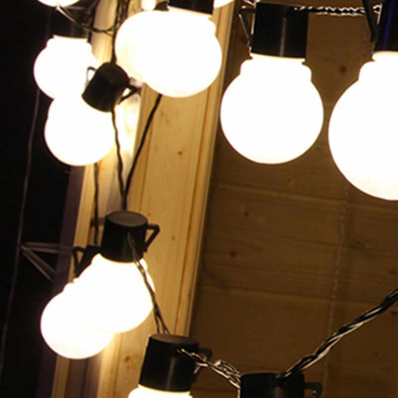 YIYANG 10 м 38 большие шары 5 см KTV Праздничные огни Глобус Luces Vacaciones Casa Джарден Decoracion