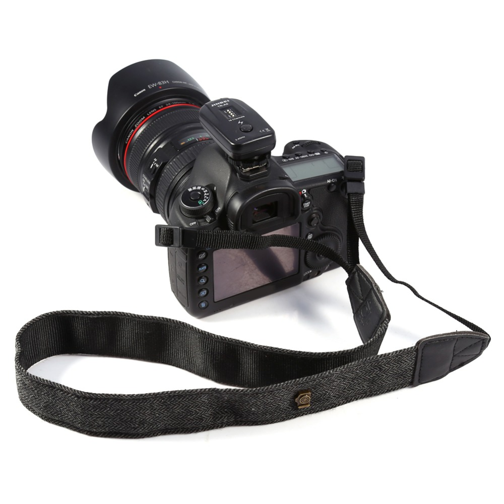 New Shoulder Neck Strap Belt Sling For Nikon SLR Cameras (Charcoal Grey)