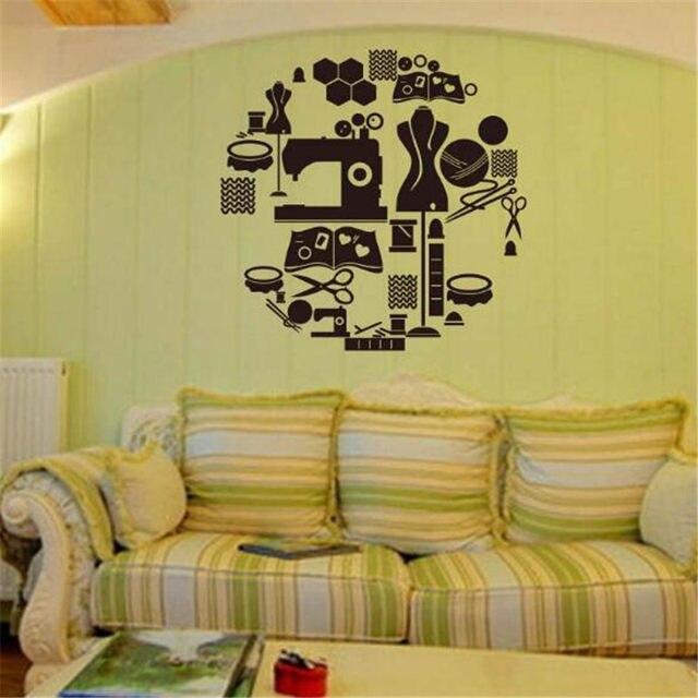 Online Shop IDFIAF Tailor\'s Shop Vinyl wall decal stickers de parede ...