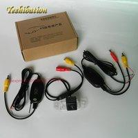 Wireless CCD Visión Nocturna de HD de Gran Angular de Lente de La Cámara Para Volvo S40L S40 V40 V50 Copia de seguridad Parque Cámara