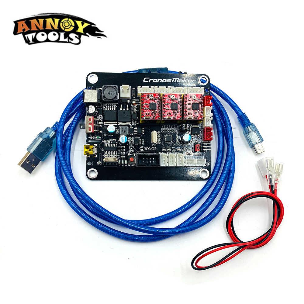 CNC 3018/2418/1610 3 Axis control board GRBL Offline Controller board Laser  board for GRBL CNC Router