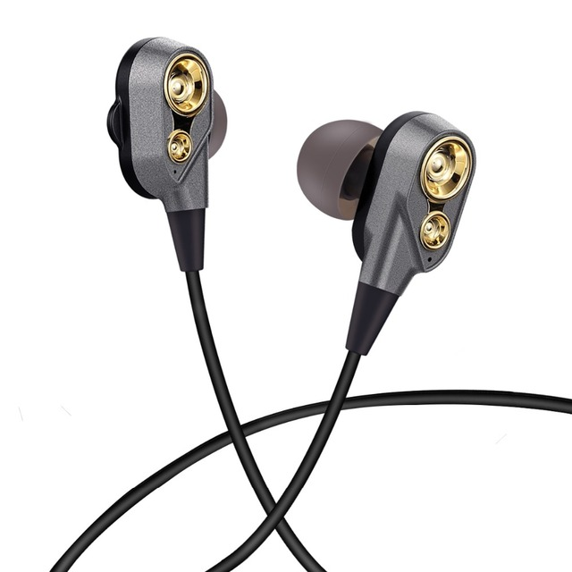 UDILIS Bass Stereo Sound In Ear Sport Earphone for xiaomi gaming headset gamer fone de ouvido MP3 Music Earbuds Stereo