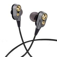 UDILIS בס סטריאו קול ב אוזן ספורט אוזניות לxiaomi משחקי אוזניות גיימר fone דה ouvido MP3 מוסיקה אוזניות סטריאו