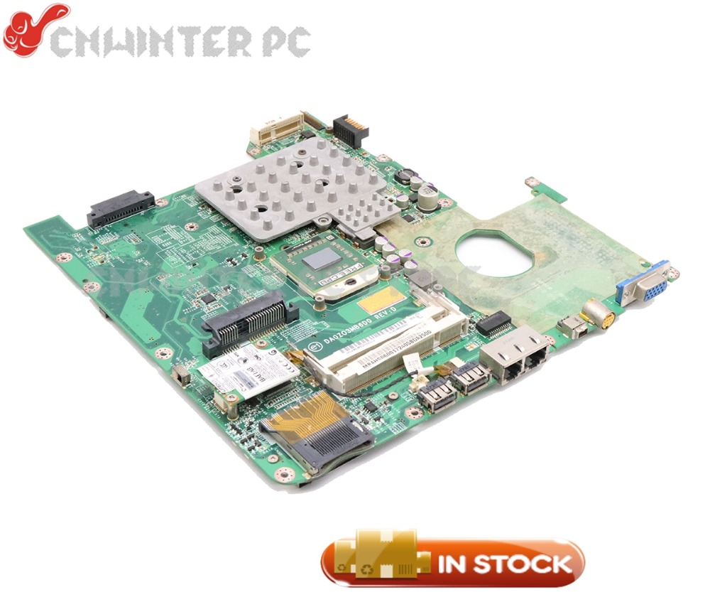 NOKOTION MBAHS06001 MB.AHS06.001 DA0ZO3MB6D0 For Acer aspire 4520 Laptop Motherboard 7000M DDR2 Free cpu original mbs8506003 for acer aspire one za3 751h laptop motherboard intel 533 cpu onboard ddr2 full tested free shipping