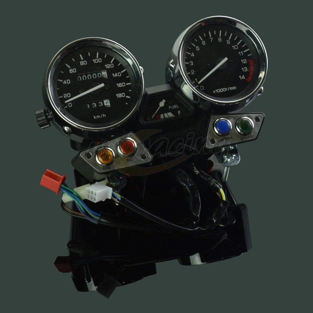 Motorcycle Tachometer Odometer Instrument Speedometer Gauge Cluster Meter For YAMAHA XJR400 XJR 400 1993-1994 1993 1994 15000rpm motorcycle universal lcd digital speedometer odometer tachometer motorbike fuel meter water temperature gauge