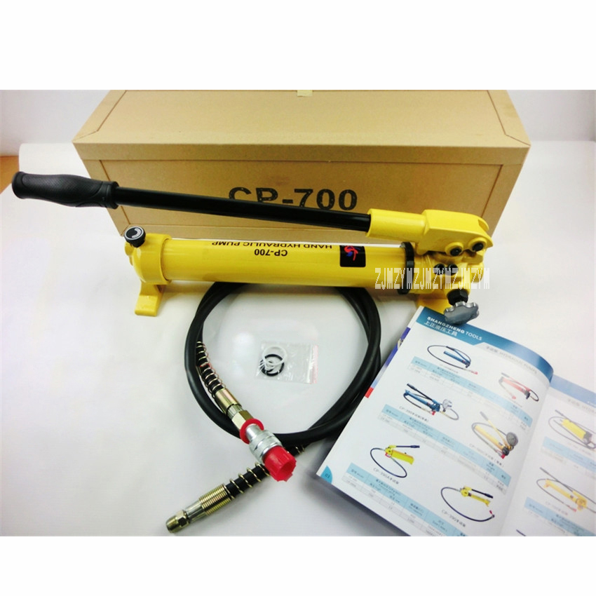 New Arrival CP-180 700 High Pressure Hydraulic Manual Pump Portable Hydraulic Pump 700 (Kg / cm2) 900CC Hydraulic Pump Hot Sale cp 600 cp 180 hand oil pump portable manual hydraulic pump