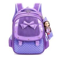 cartoon Backpacks Children School Bags for girls Bow Princess SchoolBag kids school Backpack Hello Kitty mochila infantil sac