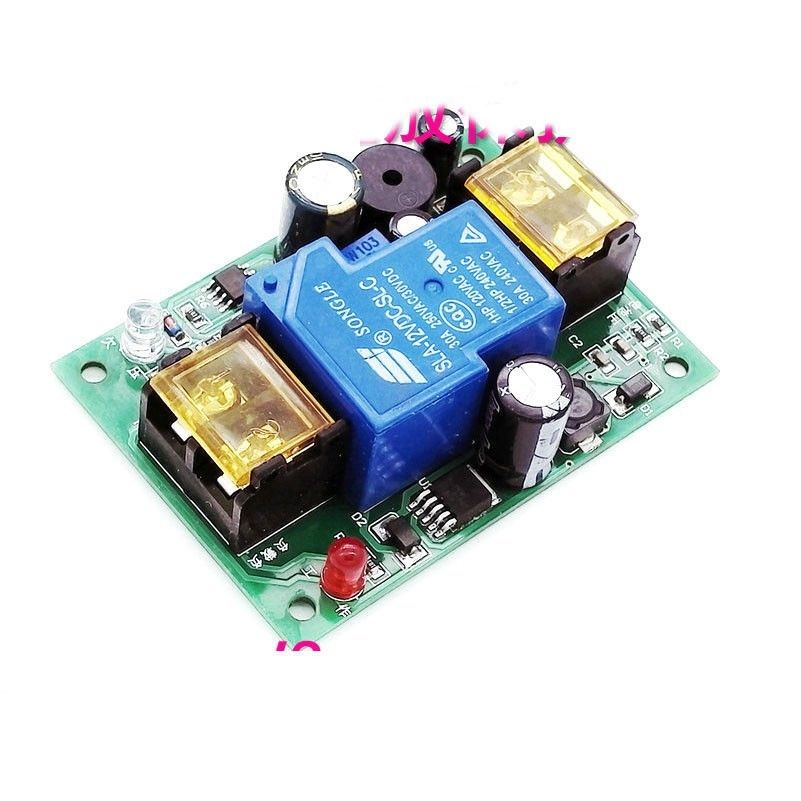 DYKB DC 12V 48V 36V 48V 30A Car Battery Anti-over-discharge Protection Board Low Batteries Protection Board With Delay Alarm