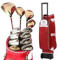 Authentic Polo Golf Club Sets Trolley Tugboat Bag E 1 A W Female Full Left Beginners