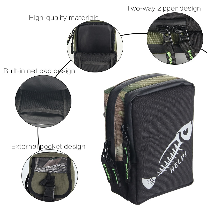 Image 5 - Waterproof Fishing Bag Storage Bag for Lure Tackles Accessories Portable Outdoor Fishing Line Bags-in Fishing Bags from Sports & Entertainment