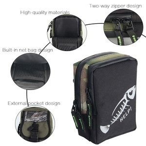 Image 5 - Waterproof Fishing Bag Storage Bag for Lure Tackles Accessories Portable Outdoor Fishing Line Bags