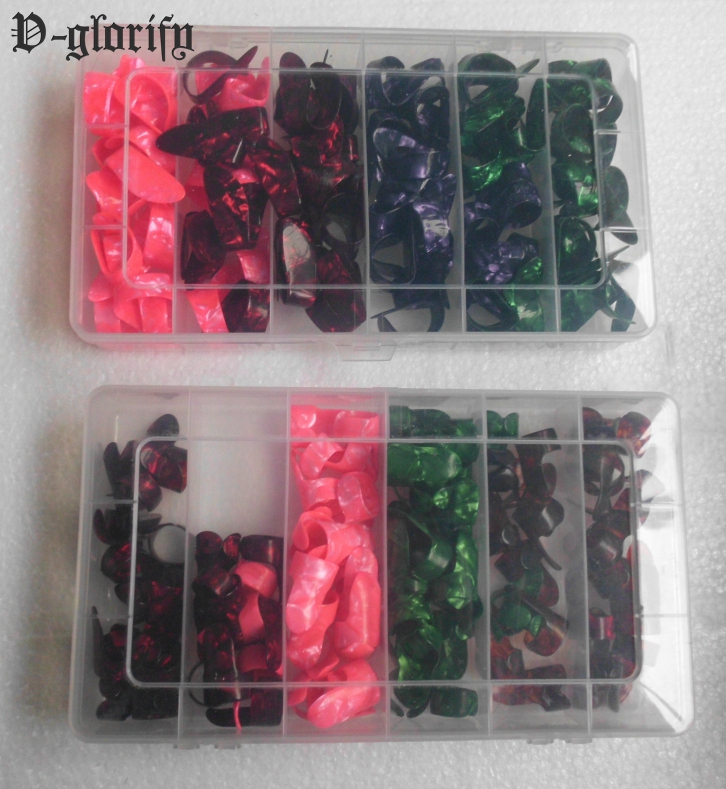 good quality celluloid guitar pick finger pick for guitar 100pc