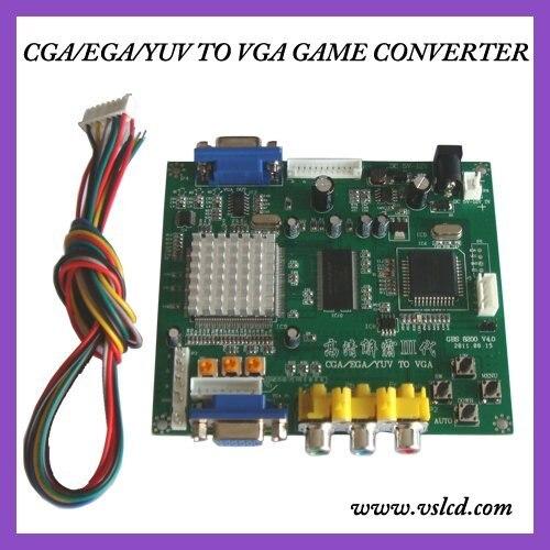CGA, EGA, RGB PARA VGA JOGO VIDEO CONVERTER GBS8200