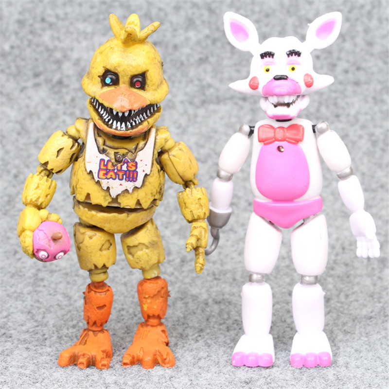 Image 3 - 6pcs/set At Freddy's Five Nights PVC Action figure 17cm Bonnie Foxy Freddy toys 5 Fazbear Bear Doll baby toys for Christmas gift-in Action & Toy Figures from Toys & Hobbies