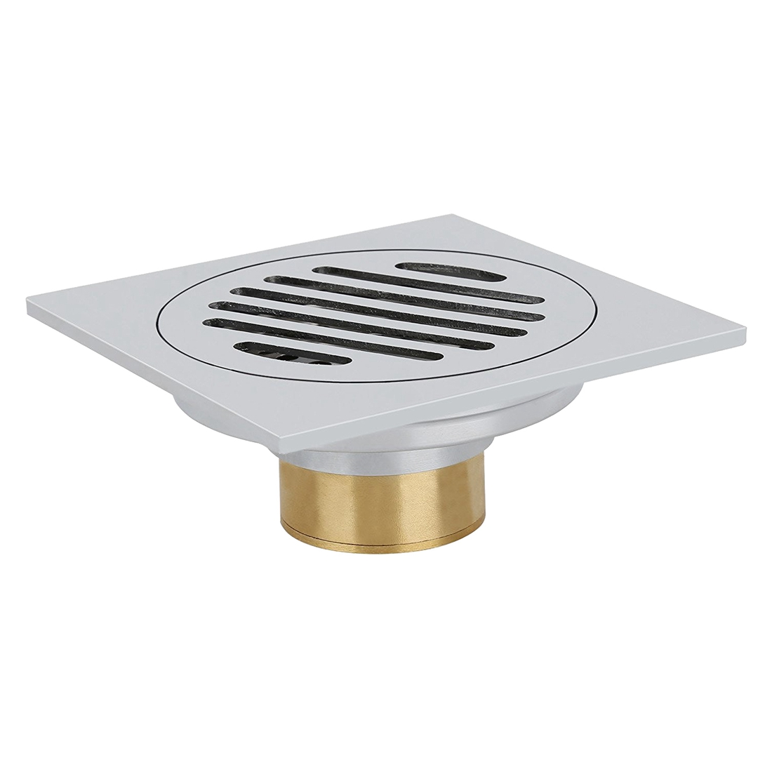 stainless steel floor drainage shower drainage bath drainage odor trap shower drain 10 x 10cm