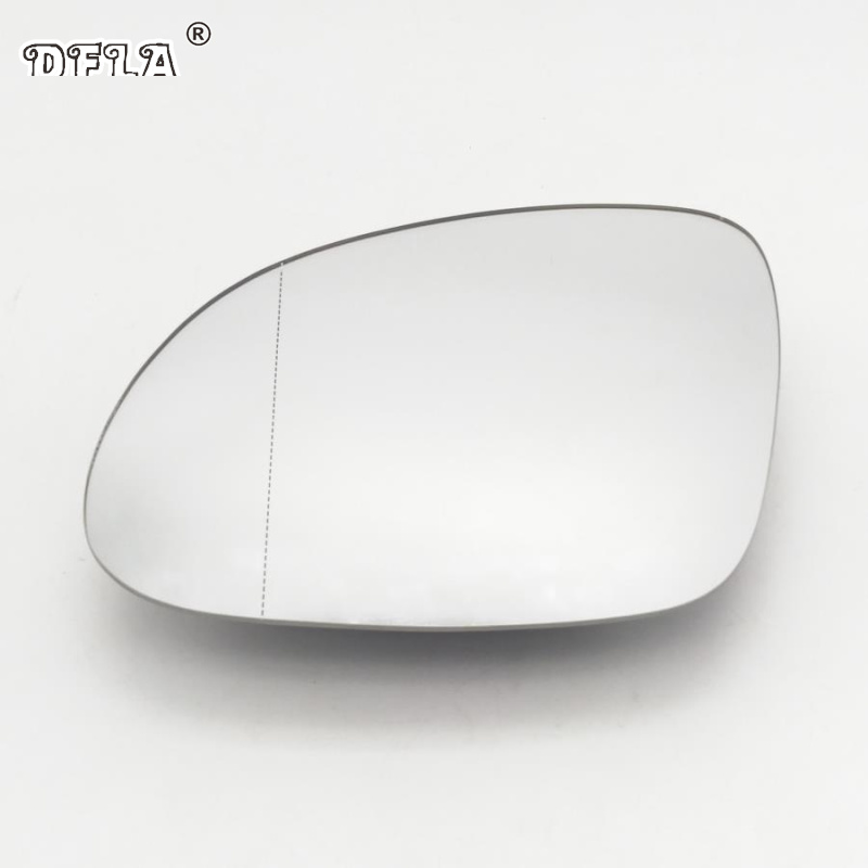 For VW Tiguan 2008 2009 2010 2011 2012 2013 2014 2015 2016 2017 Car-Styling Door Side Heated Wing Mirror Glass Left Driver Side image