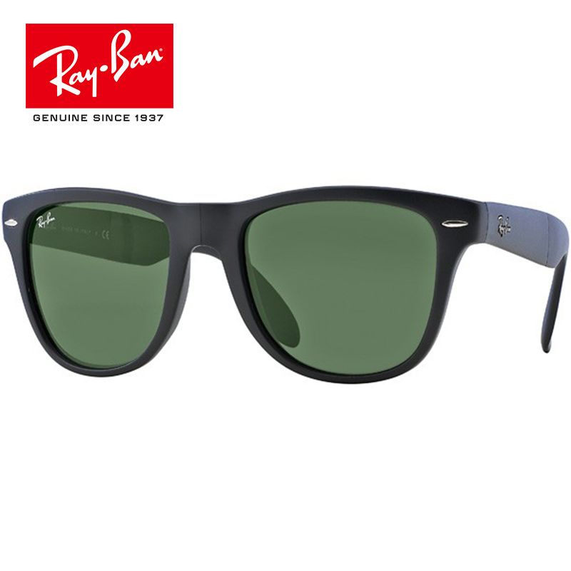 2018 nuevas llegadas RayBan hombres Wayfarer Liteforce polarizado gafas de sol cuadradas de los hombres/mujeres RB4105 601 S senderismo gafas 11 colores