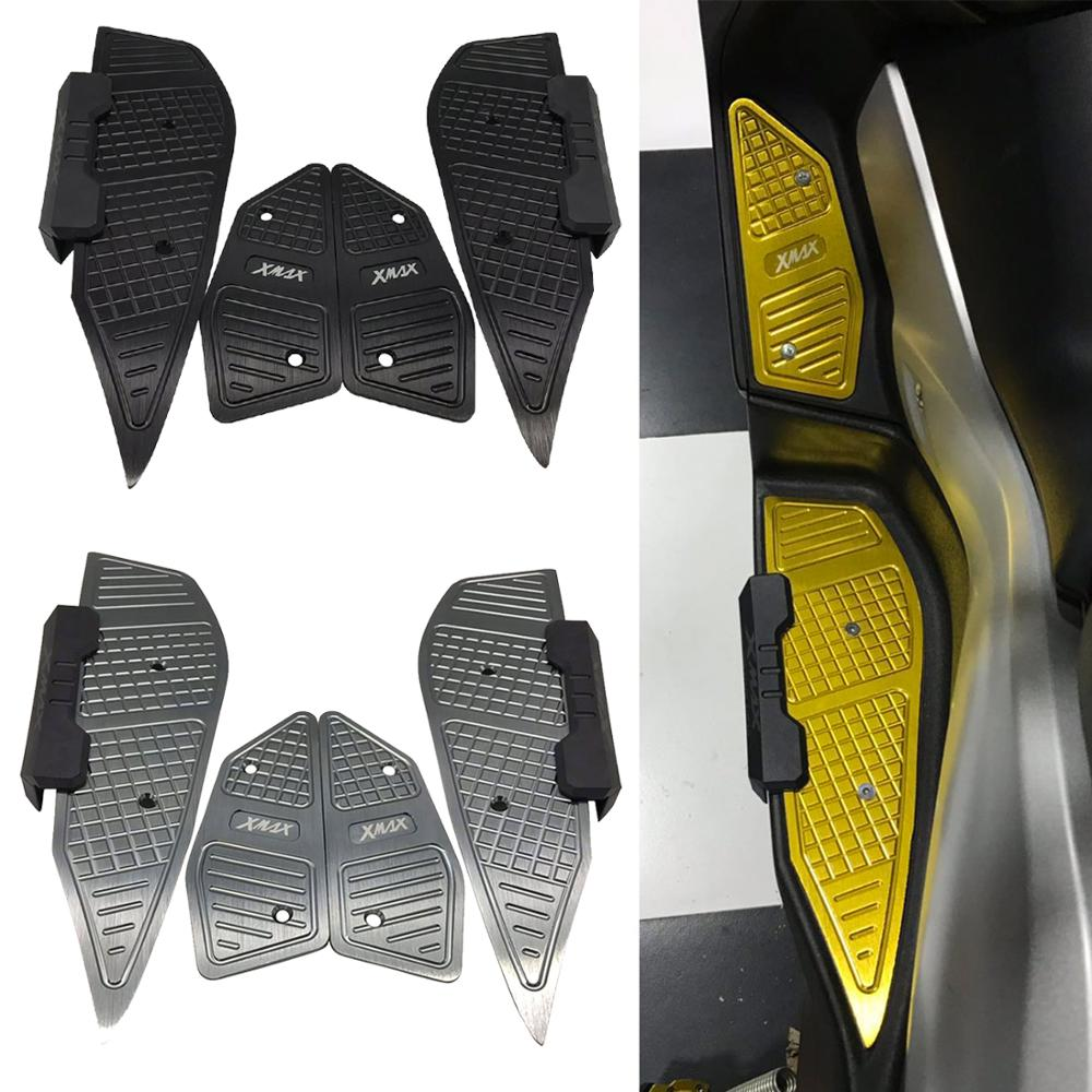 2019 New Motorcycle accessories 2017 2018 2019 For Yamaha XMAX 300 X-MAX  400 250 125 Foot Pegs Footrest Step Pedal Foot plate