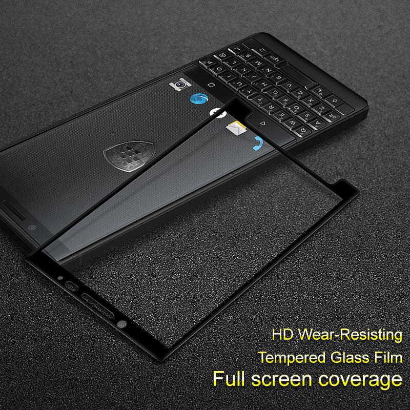 For Blackberry Key2 Key 2 glass Keytwo Key two tempered glass film Imak Full coverage Screen Protector fullscreen protection(China)