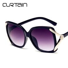 2b436ebad6 CURTAIN Square Sunglasses Women Luxury Brand Design Couple Lady Celebrity  Classic Female Men Sun Glasses Super