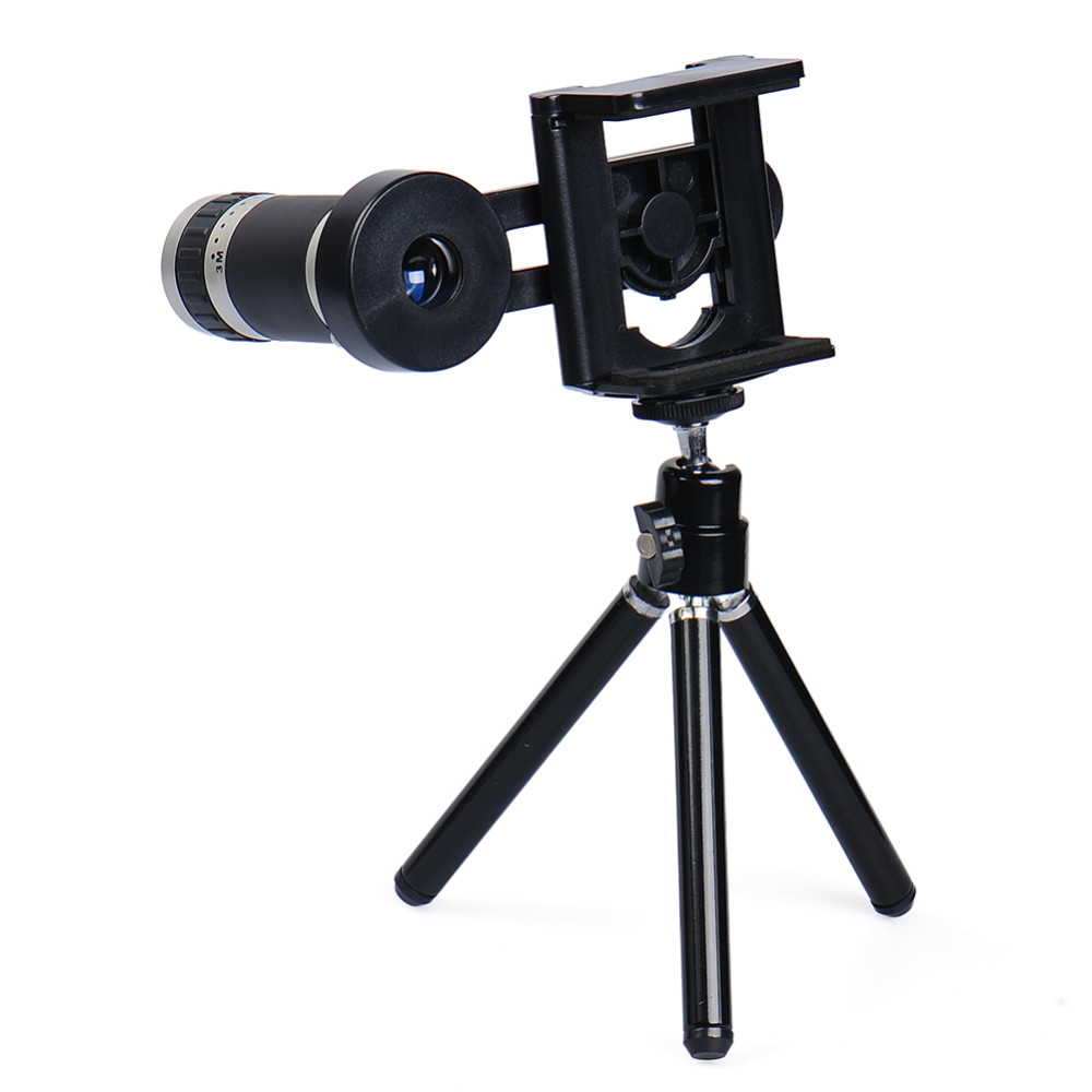 Mobile Phone Lens Universal 8X Zoom Telescope Camera Telephoto Lenses for iPhone 4 4S 5 5C 5S 6 Plus Samsung Galaxy S3 S5 Note 4 2