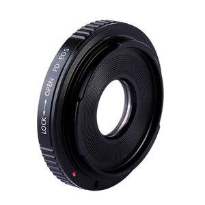 Image 4 - Cho FD EOS FD CANON FD Lens Adapter Ring Với Thủy Tinh Quang Học Tập Trung Vô Cùng gắn kết để cho canon eos ef máy ảnh 500d 600d 5d2 6d 70d