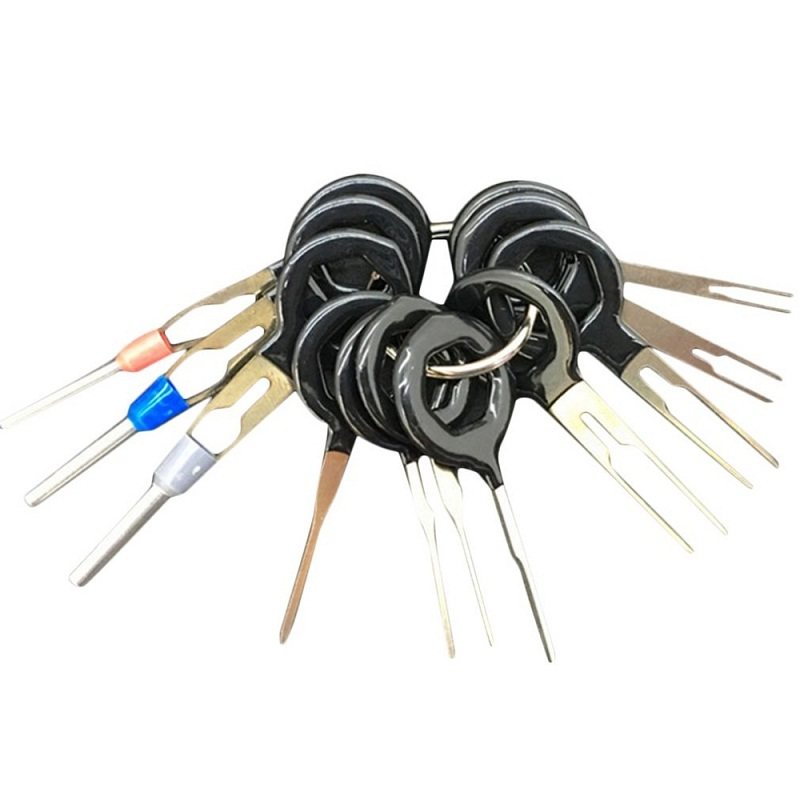 chemeimei 11pcs set wire terminal removal tool car electrical wiring crimp connector pin. Black Bedroom Furniture Sets. Home Design Ideas