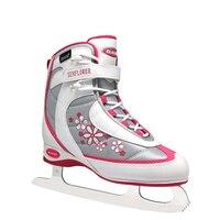 Подсолнух дети девочки Женщины подростковые Professional Ice Фигурное катание обувь с ледяным лезвием ПВХ водостойкая сетка амортизация
