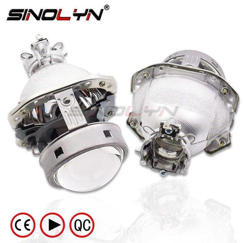 G4 EVOX-R HID bi-xénon Objectif Du Projecteur Pour AUDI A6L C5 A8 A4 B6/BMW E39 X5 E53 z4 E60/Ford Fiesta/Benz ML W163/Lancer EvoX-R/B6