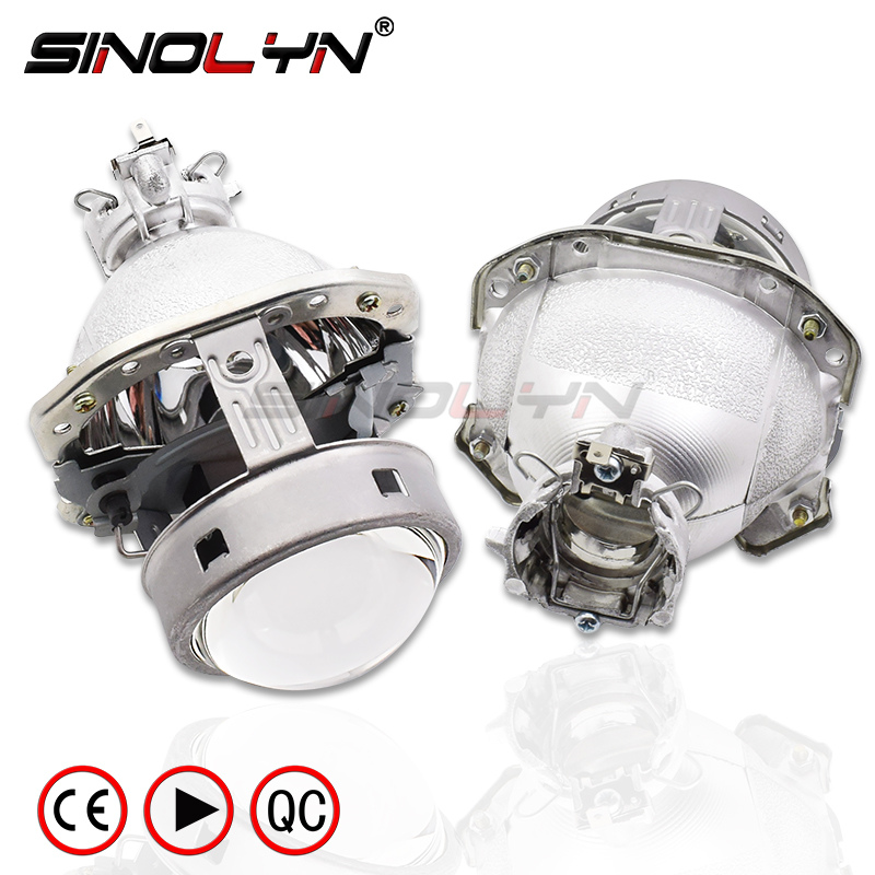 G4 EVOX-R HID bi-xénon lentille de projecteur pour AUDI A6L C5 A8 A4 B6/BMW E39 X5 E53 Z4 E60/Ford Fiesta/Benz ML W163/Lancer evox-r/B6