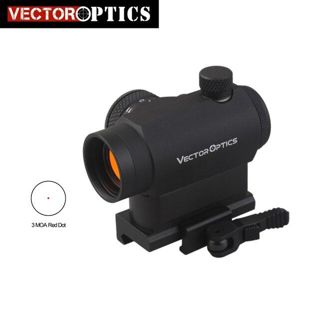 Vector Optics Maverick Ar15 M4 1x22 Tactical Red Dot Scope Sight