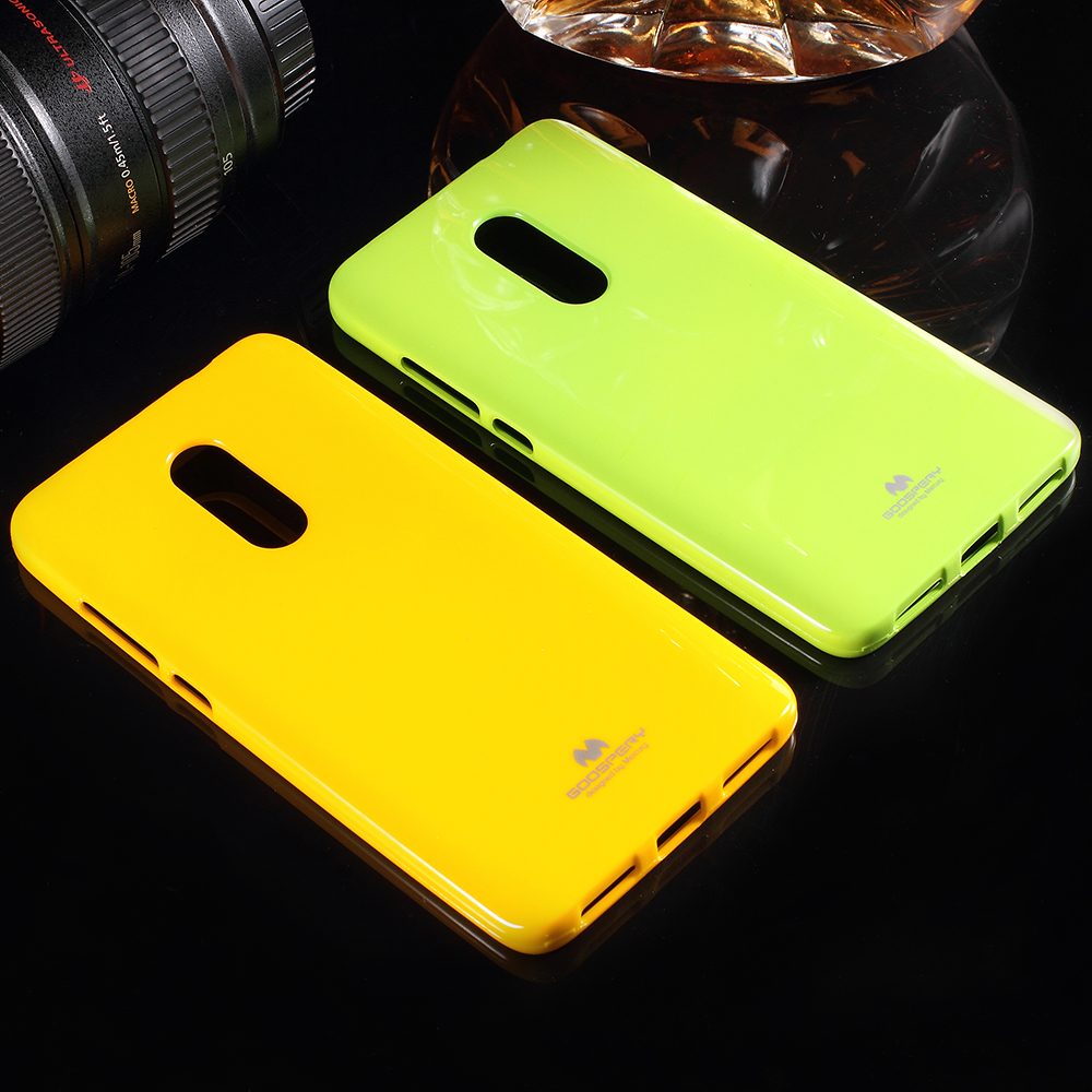 Buy For Xiomi Redmi Note 4x Mercury Goospery Pearl Jelly Case All Type Special  Yellow Xiaomi 4 Glitter Powder Tpu Cover From Reliable