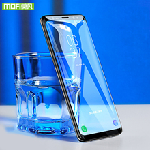 MOFi for Samsung galaxy note 9 glass screen protector for Samsung note9 tempered full cover glass for Samsung galaxy note 9 film black gold style 0 2 mm premium tempered glass screen protector for samsung galaxy note 3