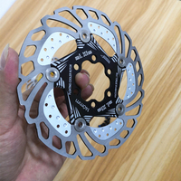 2019NEW MTB 140mm Down Hill Floating Bicycle Brake Six Nail Disc 140mm Mountain Bike Cooling Brake Rotors