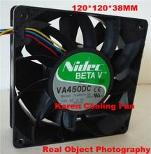 Nidec 12cm V34809-35  VA450DC 12038 12v 3.3a cooling fan