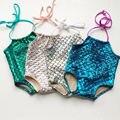 Summer beach Kids Girl clothes Mermaid Bikini Swimwuit Swimwear Bathing Suit Swimming Beachwear baby girl clothes baby bodysuits