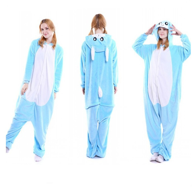 45c394a4ee Venta caliente de las mujeres anima Cosplay conejo dormir anime cosplay de manga  completa de poliéster
