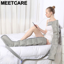 Elektrikli hava sıkıştırma ayak masaj aleti bel kol bacak sarar ayak bileği buzağı masaj makinesi ağrısı Relax kan dolaşımını teşvik