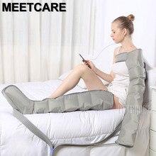 Masajeador eléctrico de compresión de aire para piernas, máquina para masaje de piernas, brazos, cintura, envoltura para piernas, tobillos de pies, relajación, promueve la circulación sanguínea