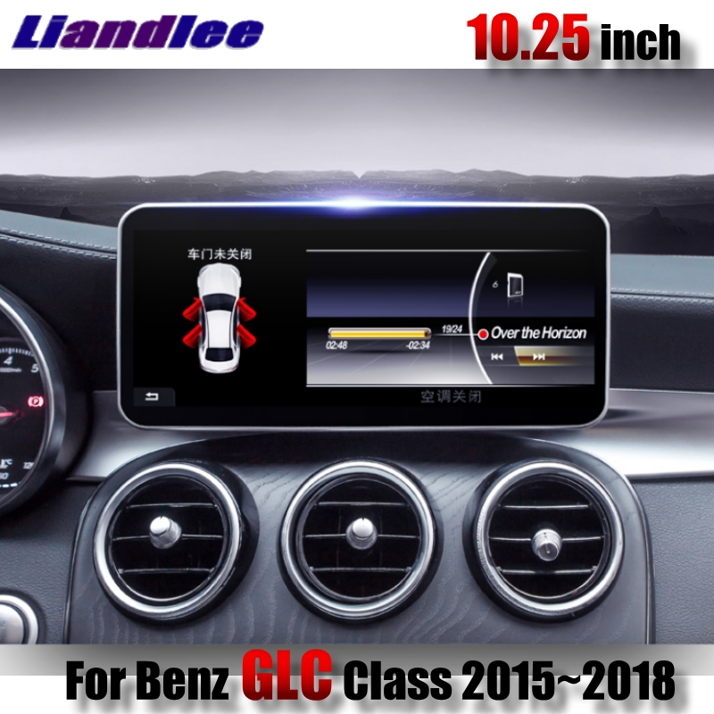 Liandlee Car Multimedia Player NAVI For Mercedes Benz MB GLC Class X253 C253 2015~2018 Original car Radio Stereo GPS Navigation