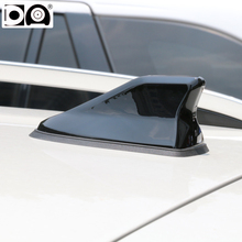купить Waterproof shark fin antenna special auto car radio aerials Stronger signal Piano paint for Mitsubishi Outlander дешево