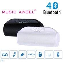 Ángel de la música Del Altavoz Bluetooth BT4.0 JH-MD13BT Bajo Estupendo Sonido Potente Altavoz Inalámbrico Portátil FM Radio/TF HiFi Música Sounbox