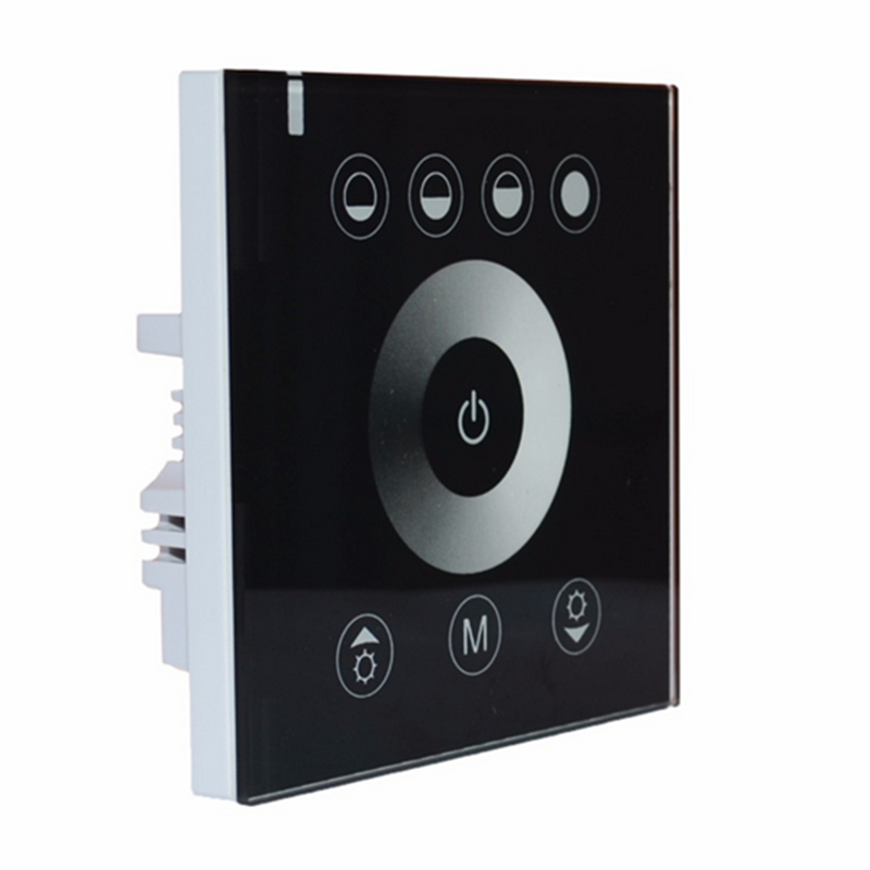 Free Shipping Touching Panel LED Dimmer at 12V-24V,switch power Led controller,brand new,2pcs lot