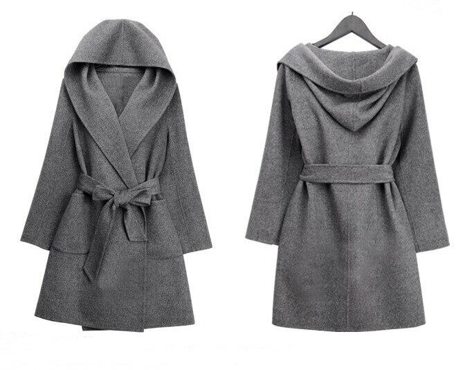 Popular Wool Grey Long Coat-Buy Cheap Wool Grey Long Coat lots