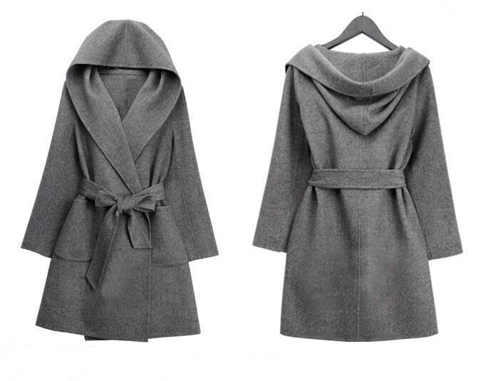 Popular Uk Long Wool Coat with Hood-Buy Cheap Uk Long Wool Coat ...