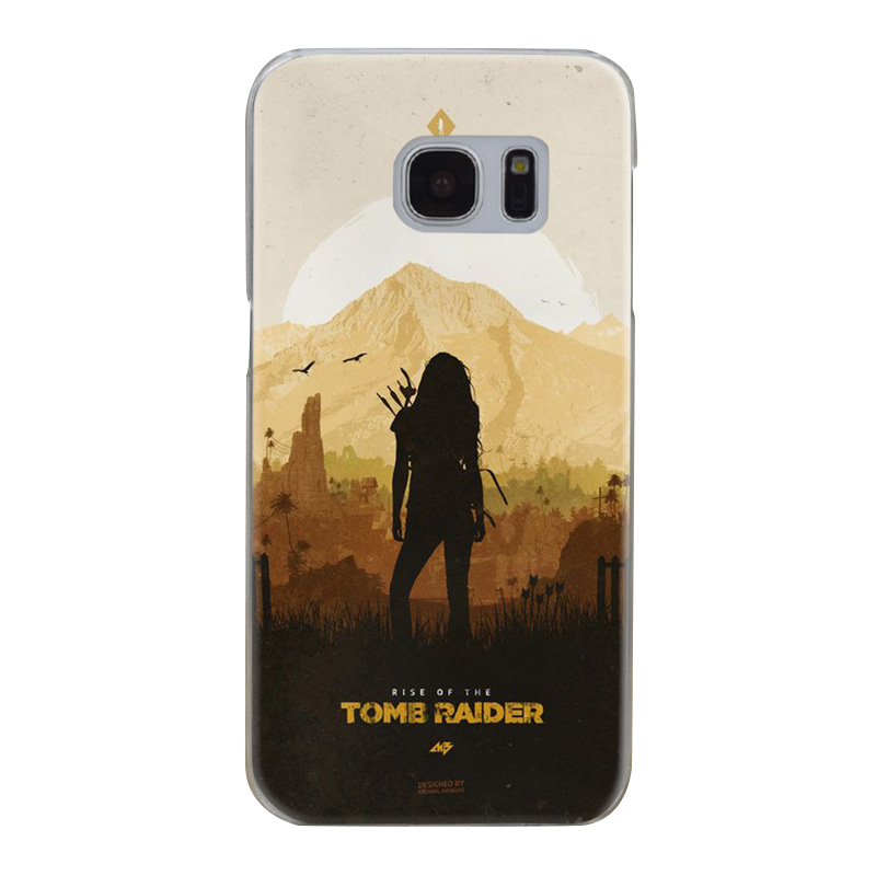 H327 Tomb Raider Transparent Hard PC Case Cover For Samsung Galaxy S 3 4 5 6 7 8 Mini Edge Plus Note 3 4 5 8