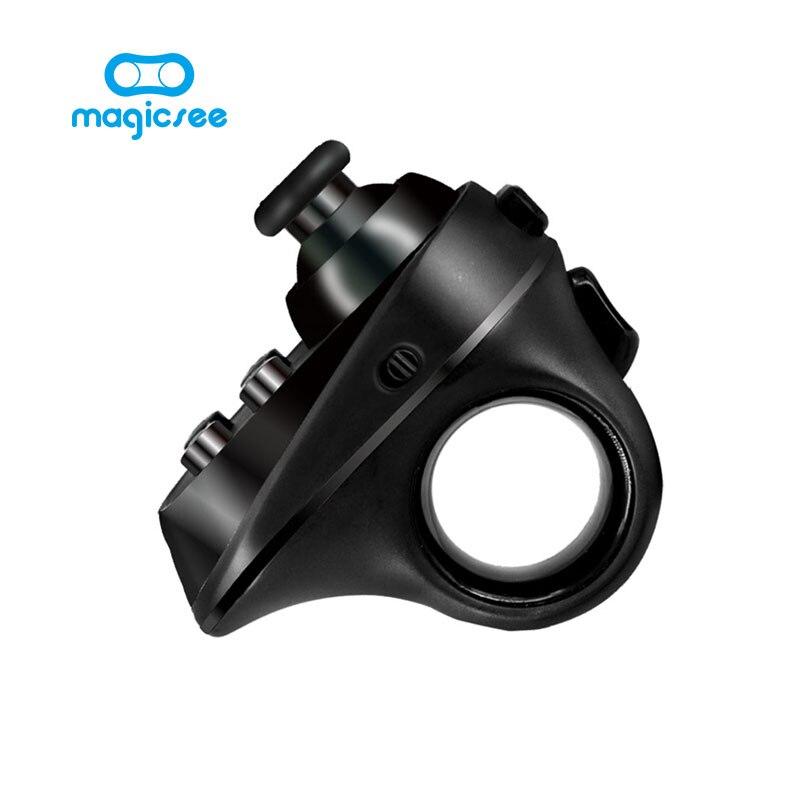 Magicsee R1 Mini Anneau Bluetooth 4.0 Rechargeable Sans Fil VR À Distance Contrôleur de Jeu Joystick Gamepad pour Android iphone