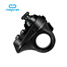 Magicsee R1 Mini Ring Bluetooth 4.0 Rechargeable Wireless VR Remote Game Controller Joystick Gamepad for Android iphone