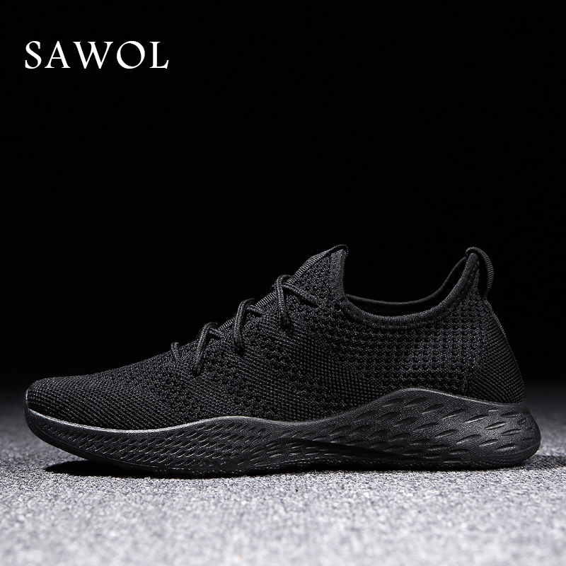 Brand Men Shoes Men Casual Shoes Men Sneakers Flats Mesh Slip On Loafers Breathable Big Size Spring Summer Autumn Winter Sawol zjnnk summer men mesh shoes big size male casual shoes breathable slip on chaussure homme light soft men summer shoes big size